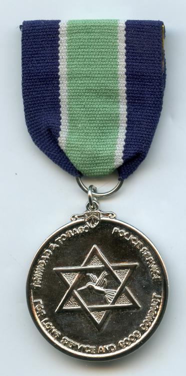 Trinidad & Tobago Police LSGC Medal Post 1976 obverse.jpg
