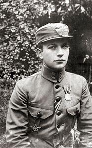 Osyp Bukshovany Ukr. Осип Букшований (1890-1937), Ukrainian military, commander of Ukrainian Sich Riflemen, later in USSR, executed by NKVD during Great Purge in Soviet Union.jpg
