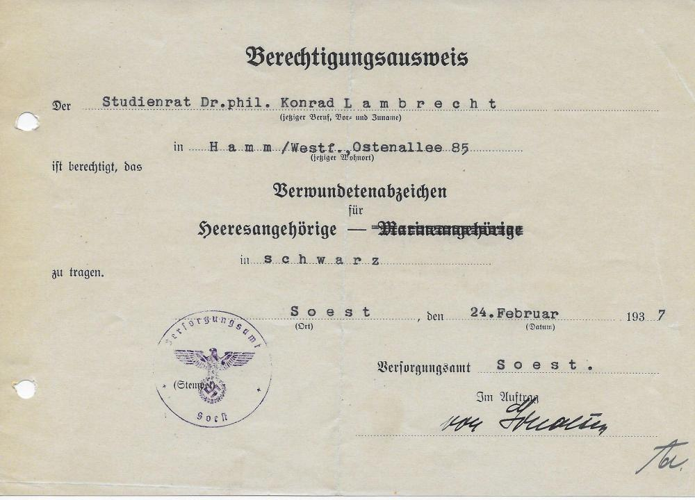 1937 BLACK WOUND BADGE AWARD.JPG