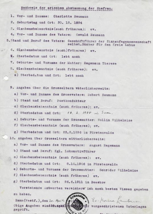 1936 CHARLOTTE LAMBRECHT - ARYAN DOC.JPG