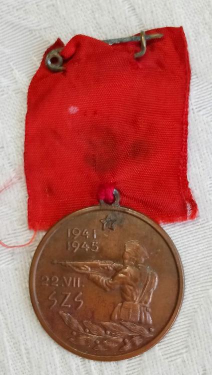 Yugoslavia-Slovenian Partisan Commemorative Medal-O.jpg