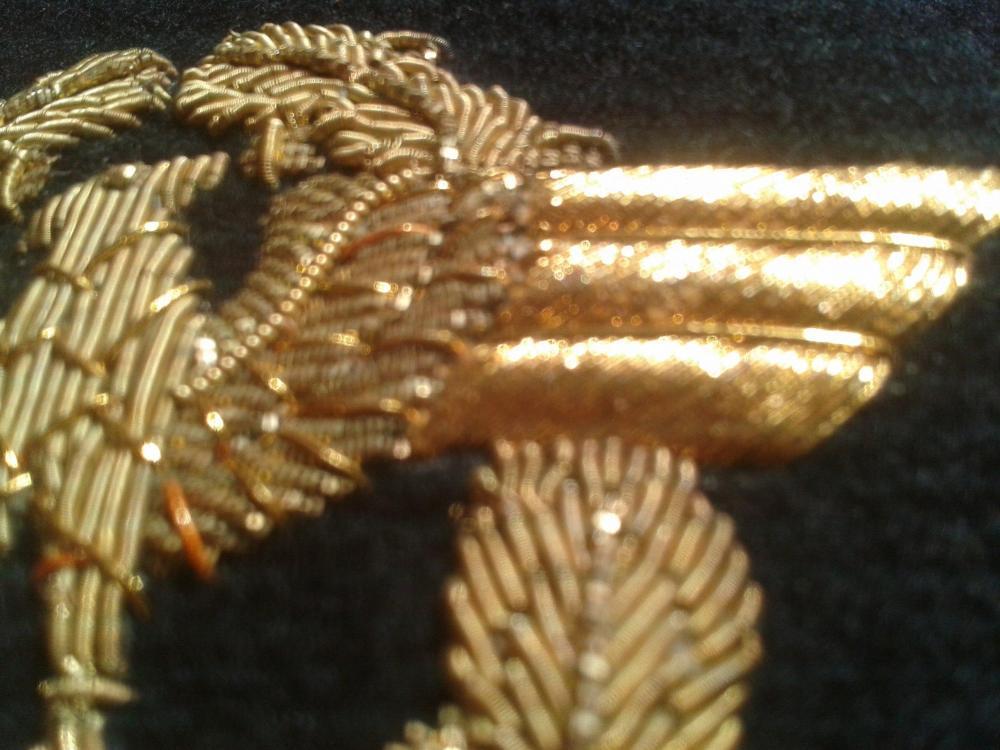 Wasserschützpolizei officer schirmmutze hand embroidered gold bullion insignia 018-12-25 15.28b.jpg