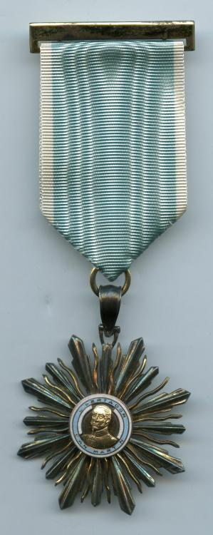Argentina Order of San Martin Knight 5th Class obverse.jpg