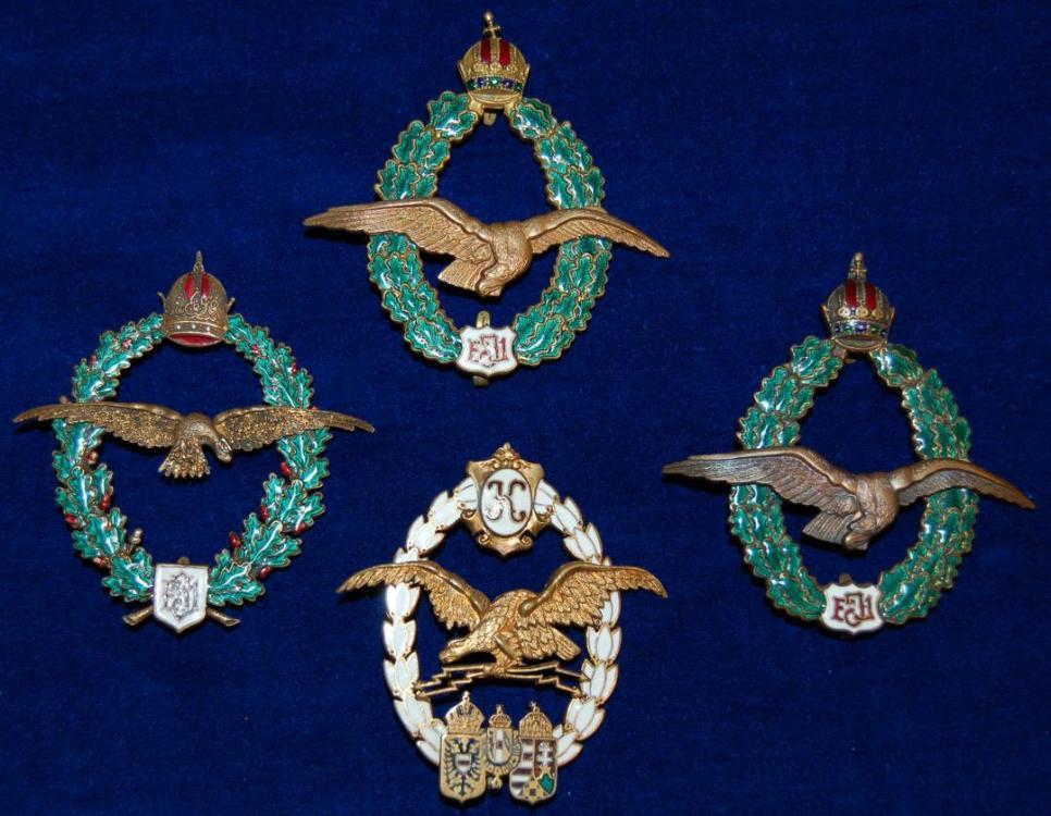 Austro Hungarian Flight Badges.JPG
