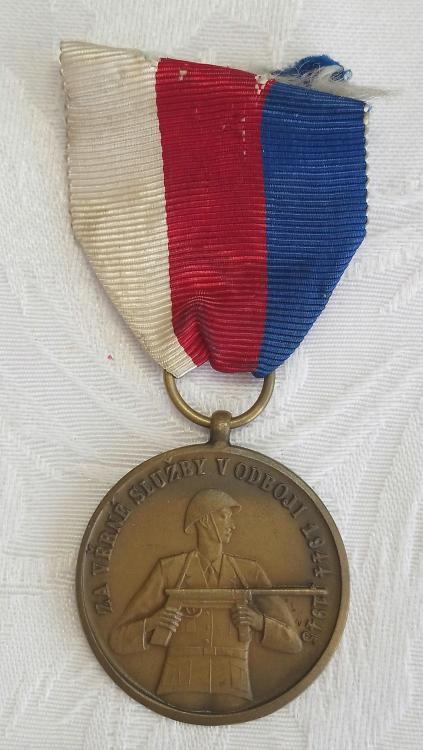 Czechoslovakia-Commemorative Medal of Partisan Unit Forward Skutec-O-E92.JPG