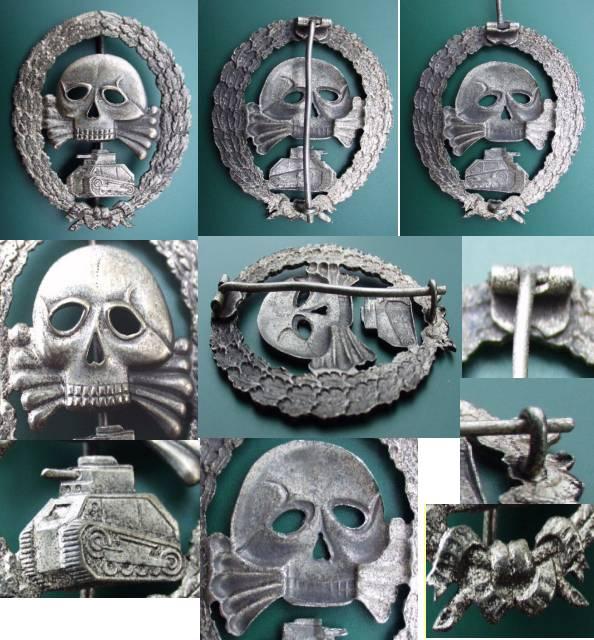 Legion Condor Panzer badge - Spain - Gentleman's Military