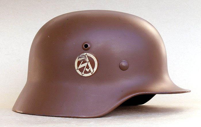 SA helmet - Germany  Third Reich  Uniforms bf9f75b63a2