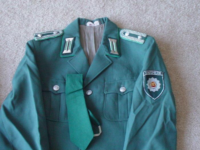 East German State Police Schutzpolizei Patch Blue