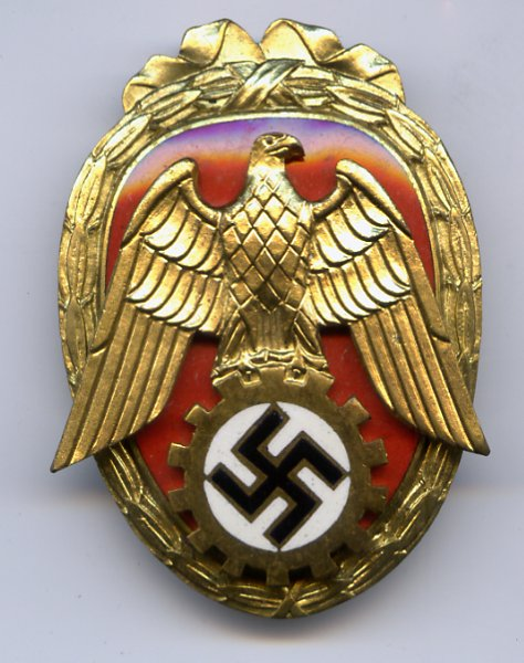 pioneer of labor - germany  third reich  wehrmacht medals  decorations  u0026 awards