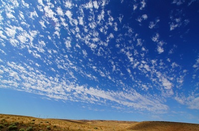 Cloudy Skies over Washington