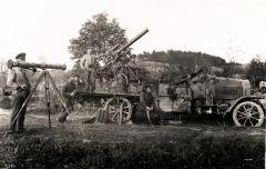 """""""Flieger-Abwehr-Kanone (Flak) in Stellung 1917"""""""