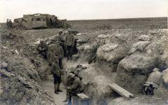 Trench armour near Bullecourt 1917