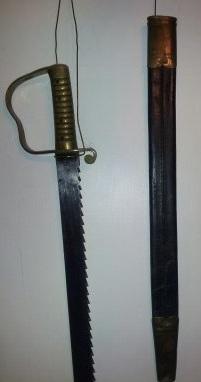 British Pioneer Short Sword - Pattern 1856
