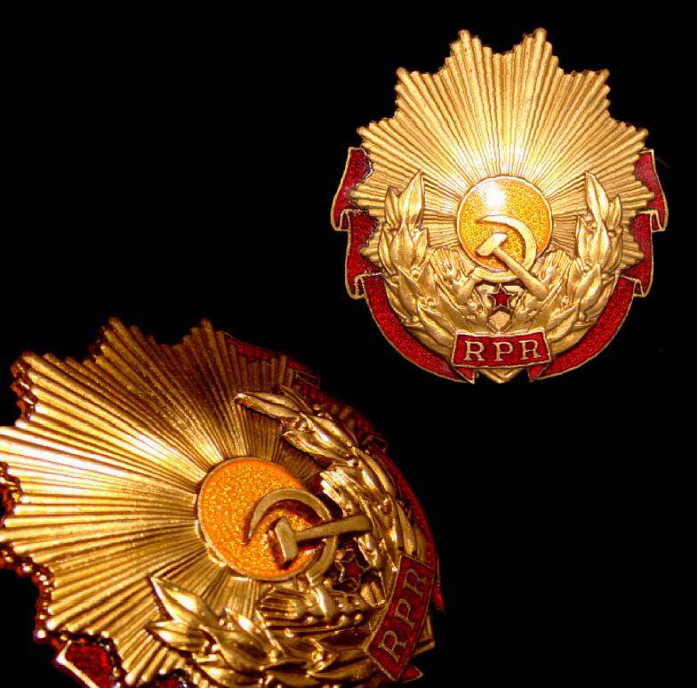 RPR Order of Labour, 3rd Class