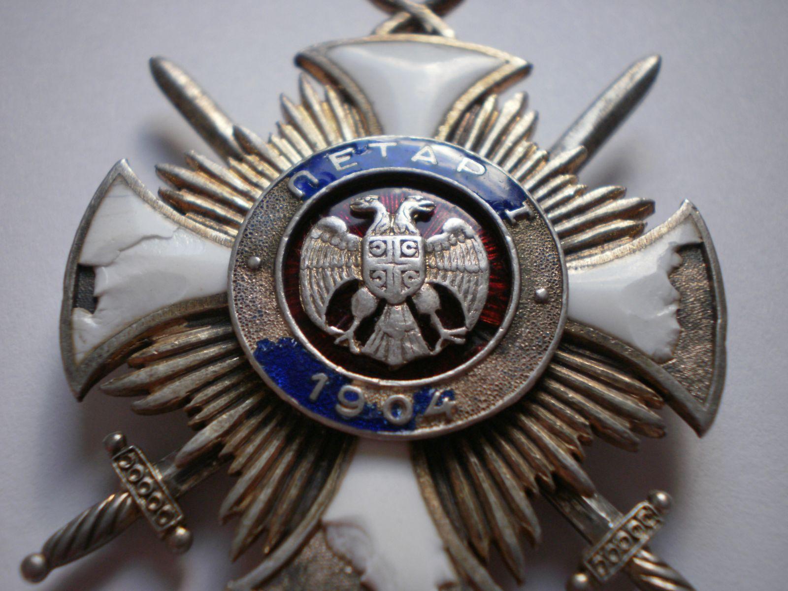 Order of the Star of Karađorđe with Swords