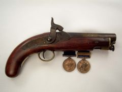 Victorian POlice Pistol and Jubilee Medals