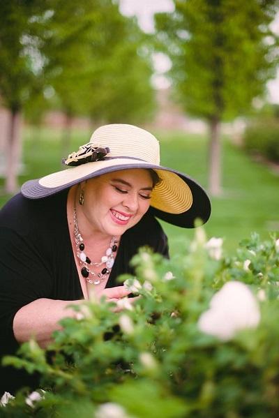 Marsha In The Garden