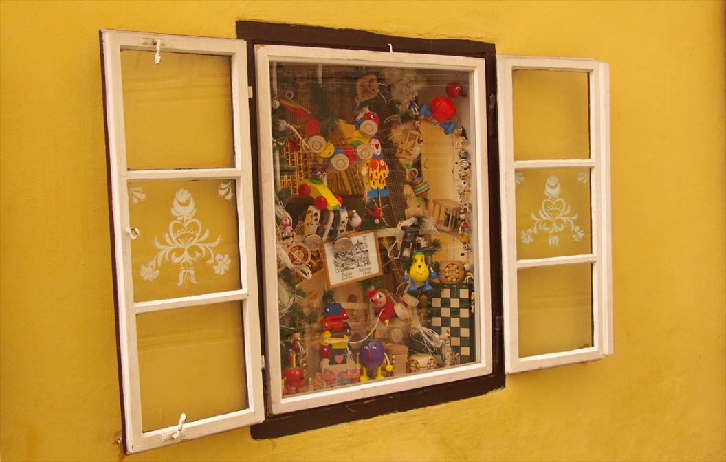 Toy Shop Window, Golden Lane, Prague