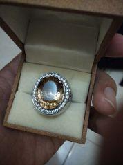 17.36 carat Brazilian Sherry Topaz