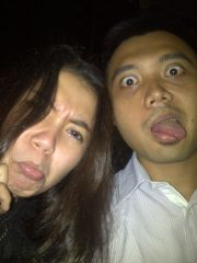 Crazy Couple Selfie