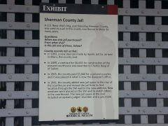 Old Sherman County Oregon jail description