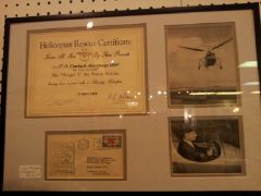Sikorsky helicopter rescue certificate