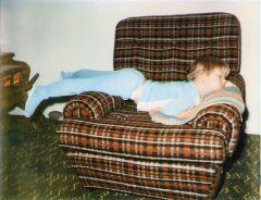 Kirk sleeping
