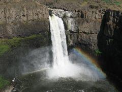 Rainbow at Palouse Falls