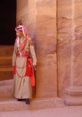 Bedouin Desert Police Officer
