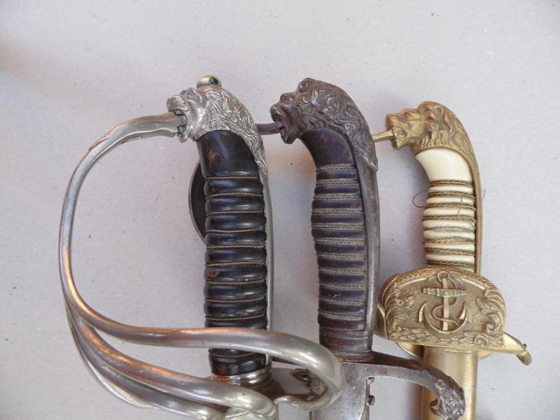 lion head swords
