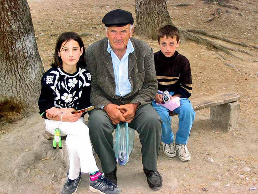 Grandfather Visits