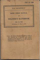 Soldier's Handbook   July 23, 1941