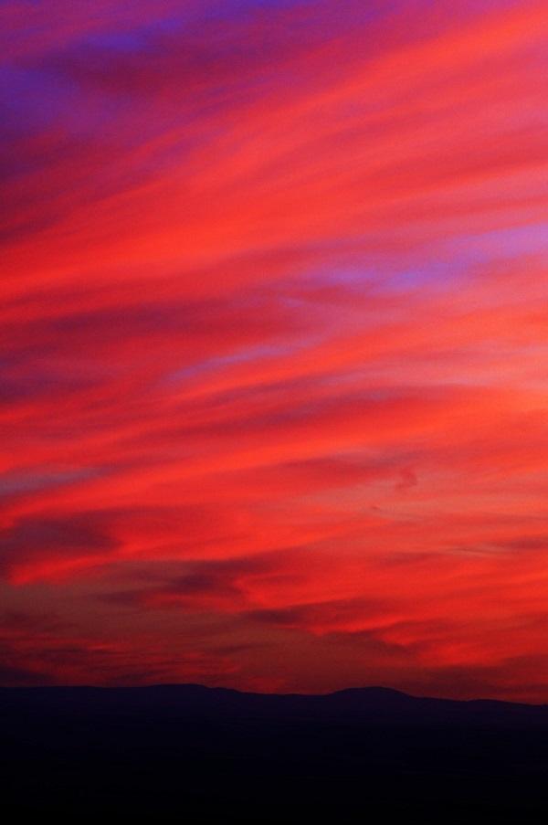 Washington Red Sunset