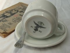 Luftwaffe Cup And saucer 002