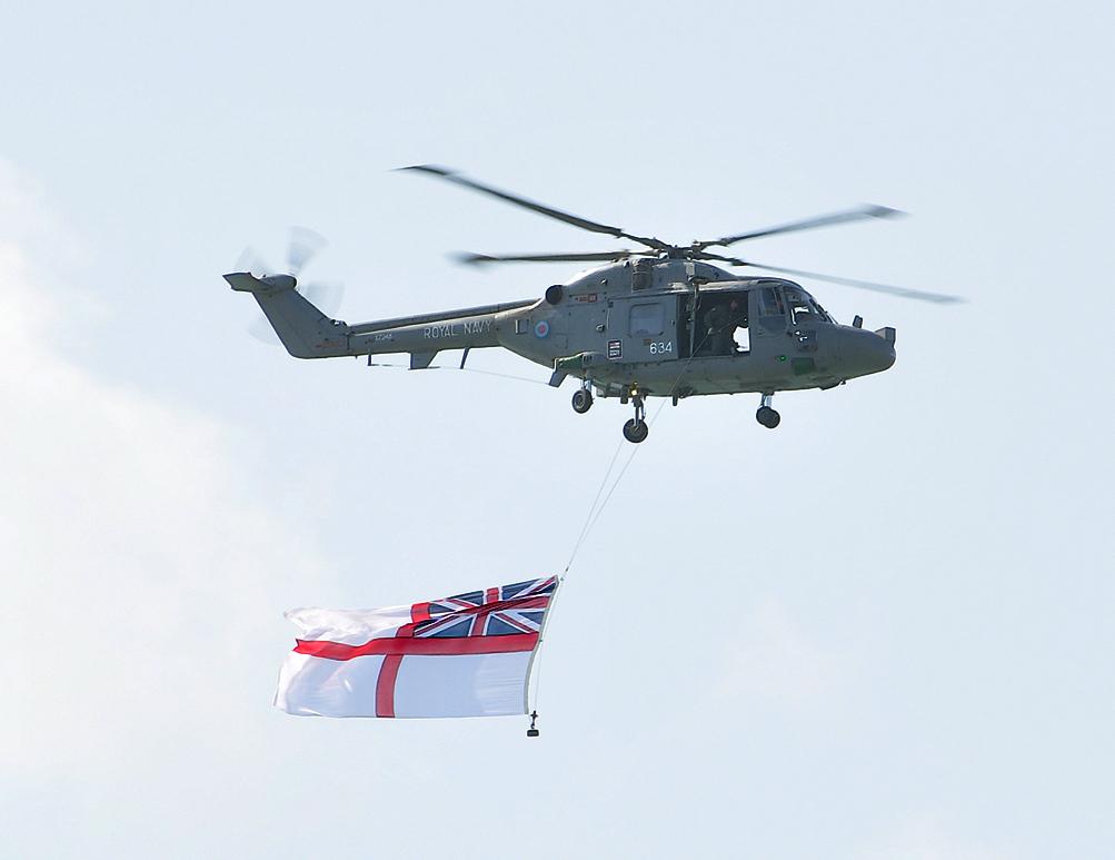 Fleet Air Arm fly-by