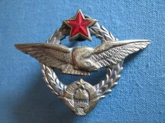 Pilots' Wings of the Yugoslav Air Force - Close-up