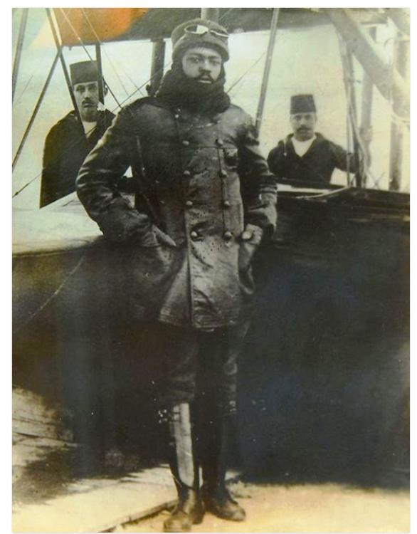 1916 Pilot Arap Ahmet Ali - His grandmother is from Borno,Nigeria.PNG