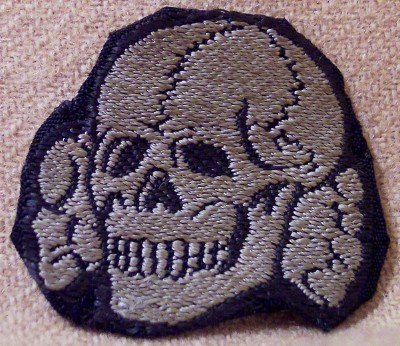 SS-skull  - Germany: Third Reich: Uniforms, Headwear