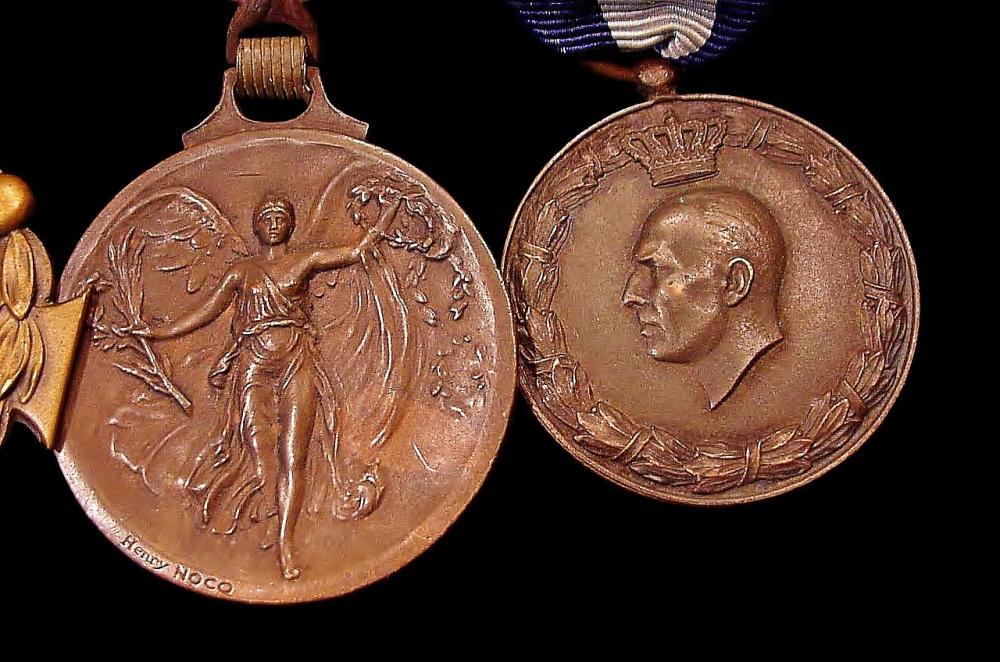 Greek Medal Bar -  WW1 Victory - 1940-41 War Medals f.JPG