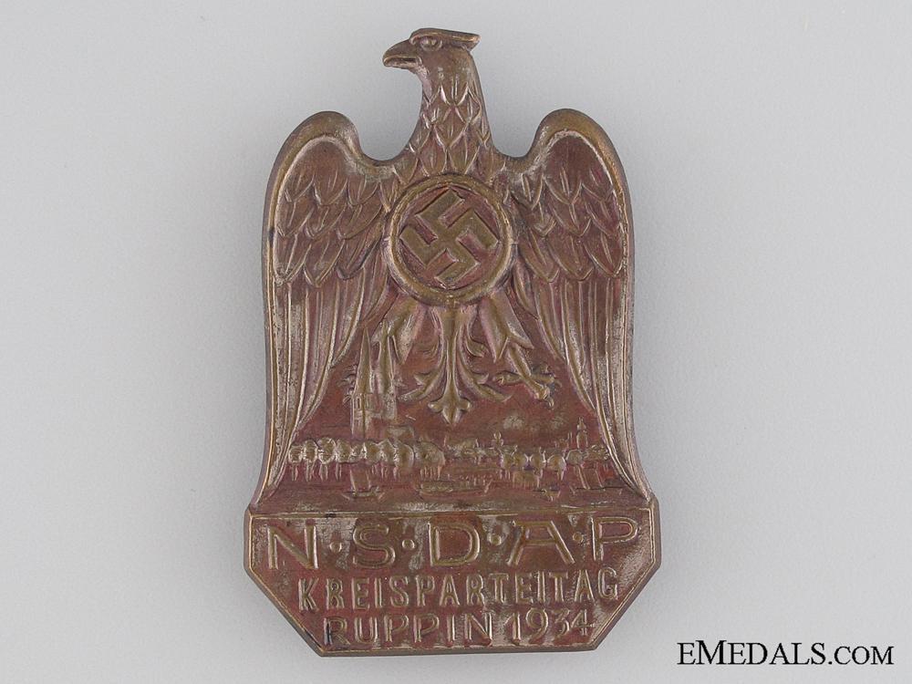 1934 NSDAP KREISPARTEITAG RUPPIN 115- EMEDALS.jpg