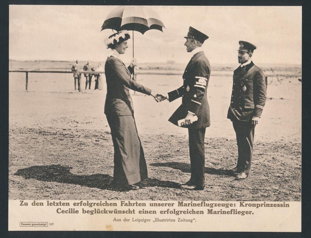 Cecilie und die Flieger.JPG