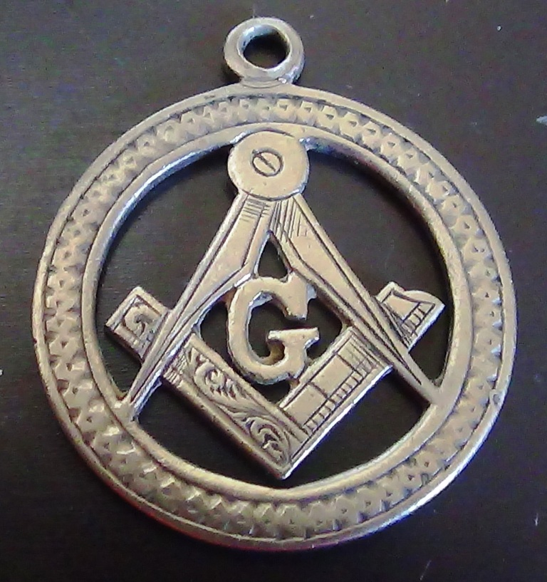 Unknown silver masonic piece - Masonic Medals & Jewels - Gentleman's