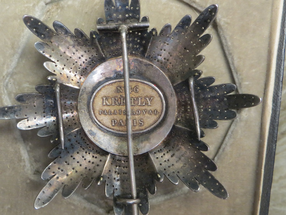 Lion and sun breast star back.jpg