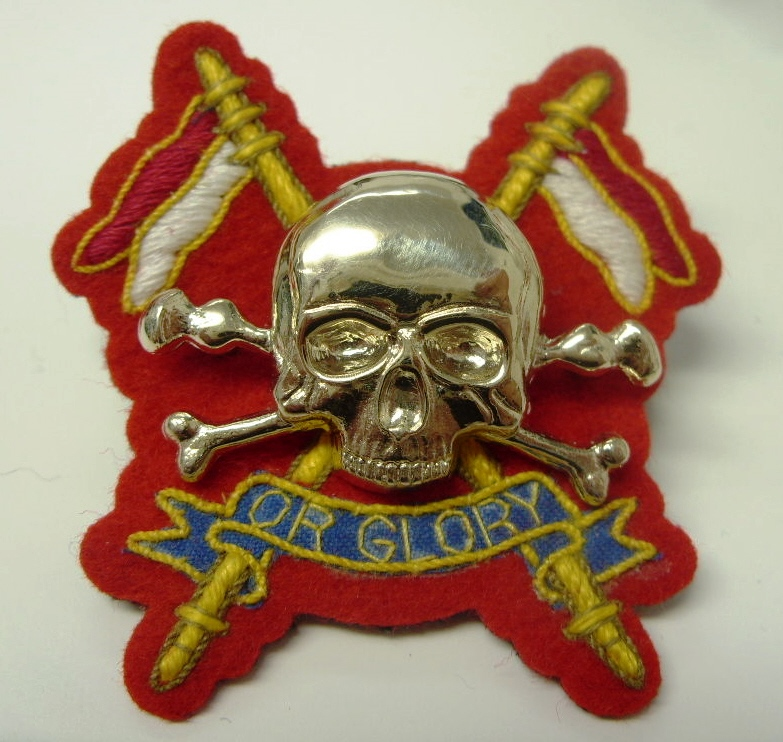 Royal Lancers 2015 OR Cap.JPG