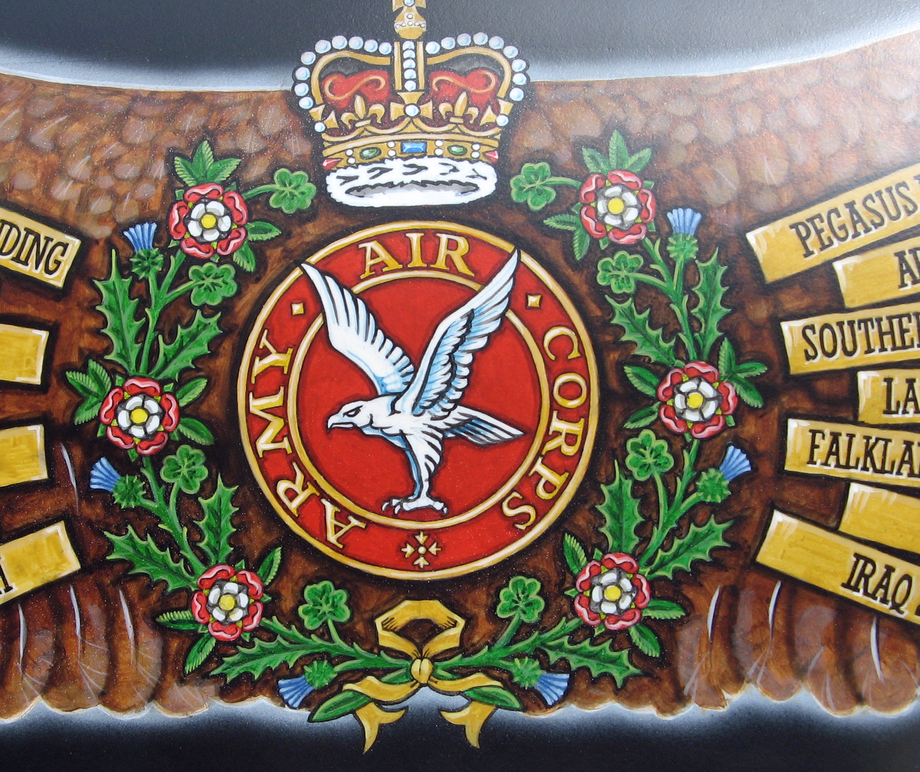 9 Regiment Army Air Corps - Military Art - Gentleman's Military ...