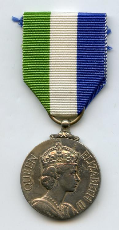 Sierra Leone Indepedence Medal obverse.jpg