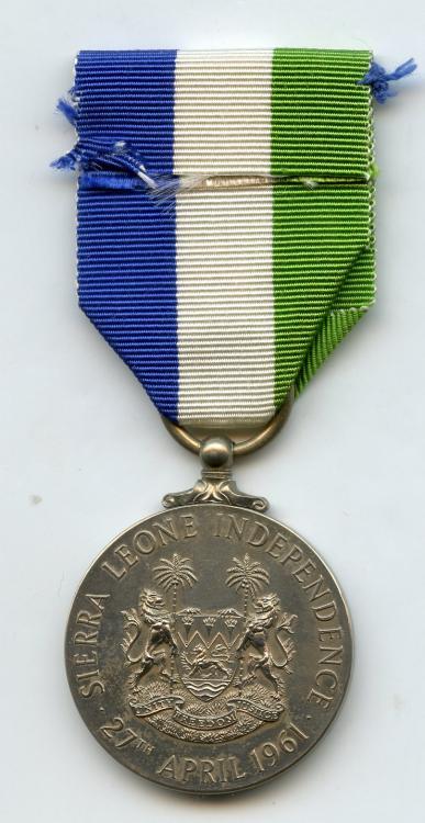 Sierra Leone Indepedence Medal reverse.jpg