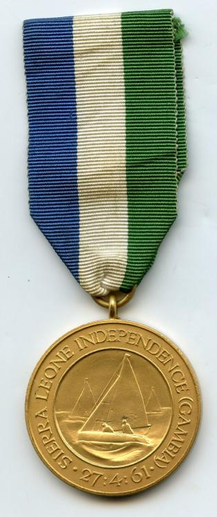 Sierra Leone Indepedence Medal 2 obverse.jpg