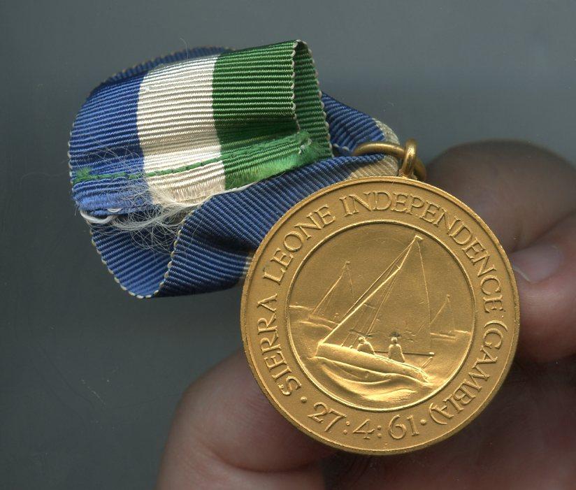 Sierra Leone Indepedence 2 Medals ribbon clothed.jpg