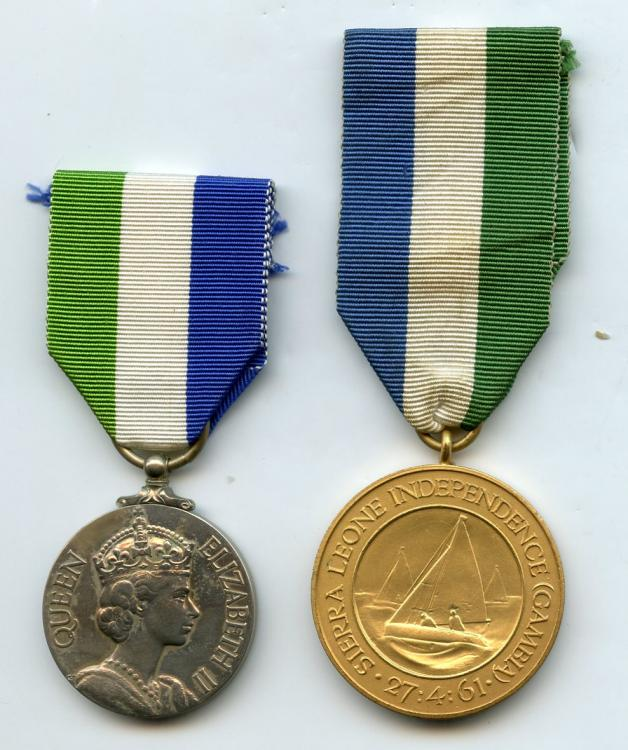 Sierra Leone Indepedence 2 Medals.jpg
